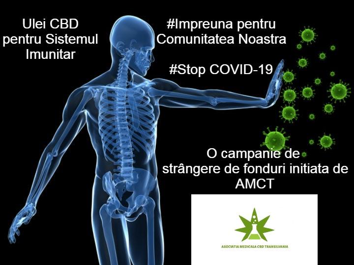 """Asociatia Medicala CBD Transilvania inițiază campania """"Împreună pentru Comunitatea Noastra!"""""""